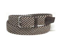 cintura intreccio elastico produzione artigianale made in italy cinturificio vaccarini